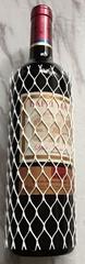 PE Wine Bottle Protection Netting Sleeving