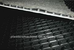 T-shaped PE lamination drainage sheet machinery