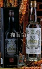 金门高粱酒58度白金龙