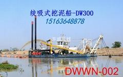 河道治理最常用的绞吸式挖泥船