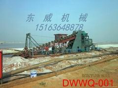 獨家供應可控選礦濃度尾礦清淤設備