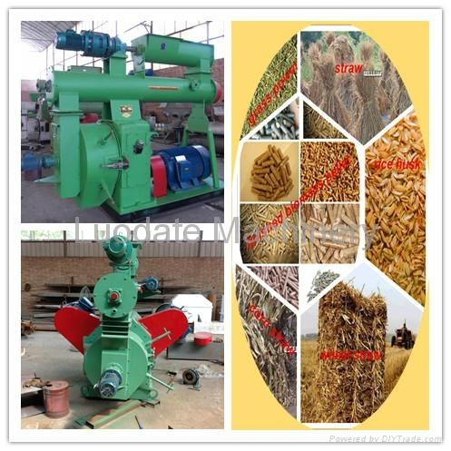 Automatic best-selling wood pellet mill 2
