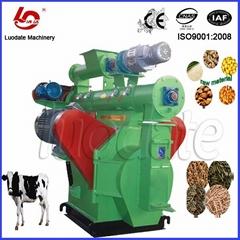 小型家禽饲料压制机