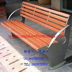 公园椅 户外休闲椅 石木休闲椅 休闲椅厂家直销