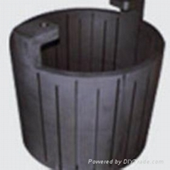 graphite heating parts for furnace industry