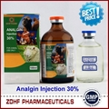 Analgin injectable solution for veterinary use with OEM package  2