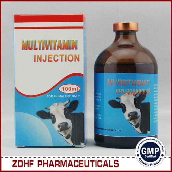 Weight gain multivitamin injection solution for broiler  3