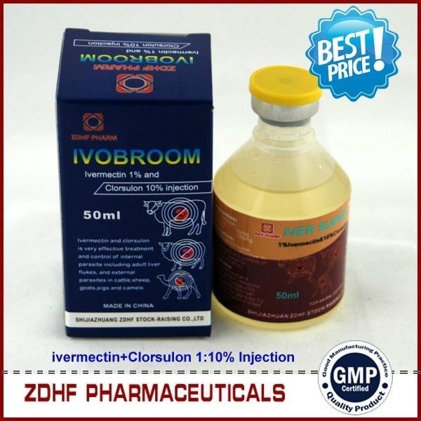 Ivermectin clorsulon injection 2
