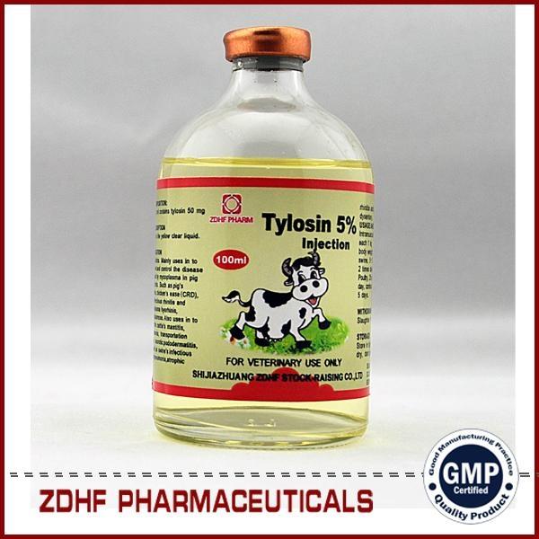 200 Tylan / tylosin tartrate injection 5% 10% 20% 2