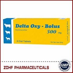 Veterinary Antibiotic agent Oxytetracycline bolus 500mg