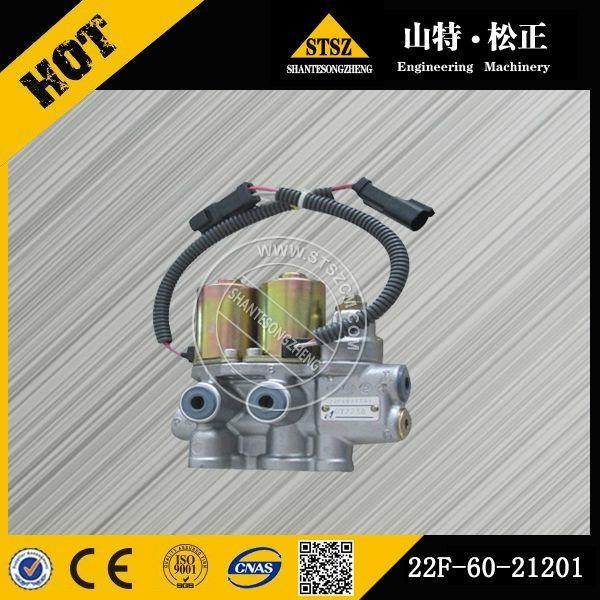 Komatsu brand machine PC50 PC55MR-2 PPC va  e 22F-60-21201 solenoid va  e 1
