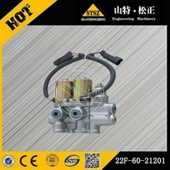 Komatsu brand machine PC50 PC55MR-2 PPC va  e 22F-60-21201 solenoid va  e