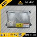 KOMATSUexcavator PC400-7 engine fuel