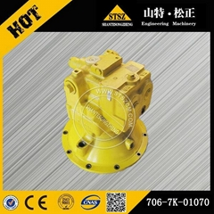 Komatsu part of PC300-7 swing motor spare parts 706-7K-01070