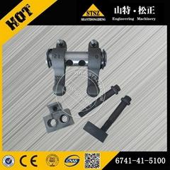 KOMATSU excavator PC300-7 engine parts 6741-41-5100 rocker arm assembly
