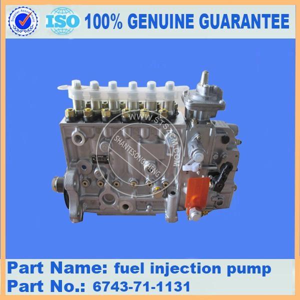 KOMATSU engine part of PC300-7 Fuel Injection Pump 6743-71-1131 1