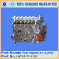 KOMATSU engine part of PC300-7 Fuel