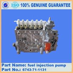 KOMATSU engine part of PC300-7 Fuel Injection Pump 6743-71-1131