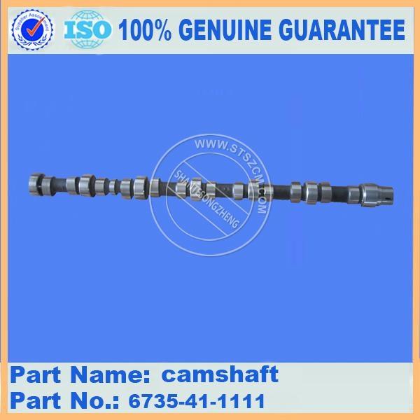 KOMATSU Excavator PC200-7 engine camshaft 6735-41-1111  1