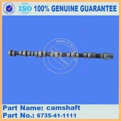 KOMATSU Excavator PC200-7 engine camshaft 6735-41-1111