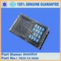 Komatsu excavator PC200-7 monitor 7835-12-3000 3