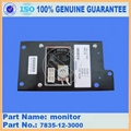 Komatsu excavator PC200-7 monitor 7835-12-3000 1