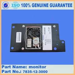 Komatsu excavator PC200-7 monitor 7835-12-3000