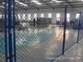 电力施工地钢丝围栏