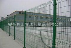 鐵絲網圍牆護欄