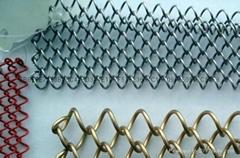 菱形铁丝网 机编镀锌网