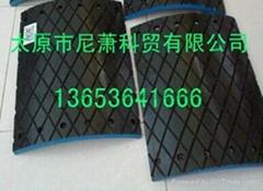 瓦壳式滚筒复合菱形胶板