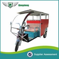 2014 new modlel eco friendly 1000W 60V Electric rickshaw