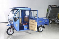 Electronic tricycle etrike cargo with