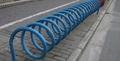 东莞高脚碳素钢螺旋式自行车停车