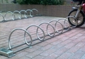 东莞不锈钢螺旋式自行车停车架