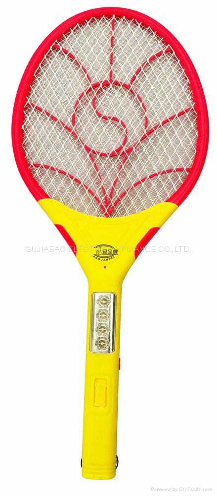 P-007 Li-ion Battery electric mosquito racket 1