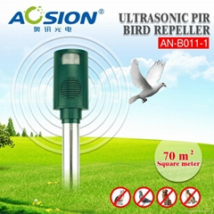 Professional passive nfrared motion activated bird repellent
