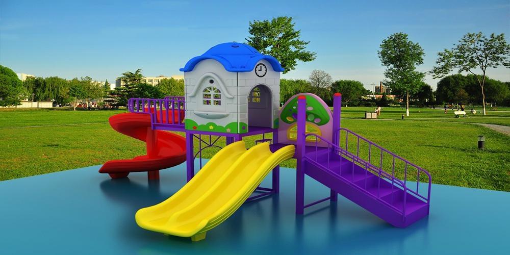 供應幼儿園儿童滑梯戶外大型組合滑梯經濟型A-2 1