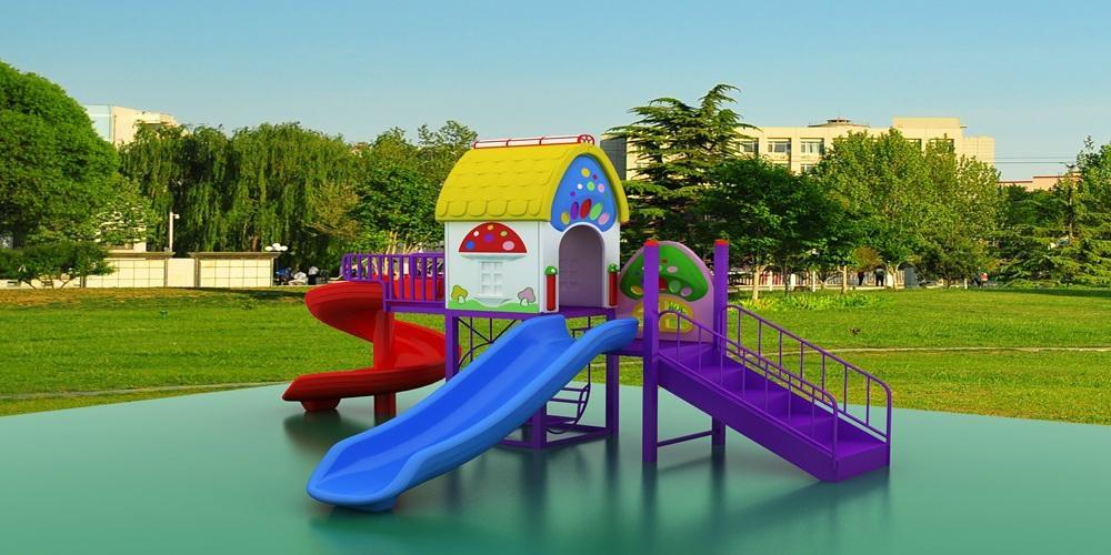 供應幼儿園儿童滑梯戶外大型組合滑梯經濟型A-1 1