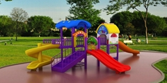 供应幼儿园儿童滑梯户外大型组合滑梯经济型B-1