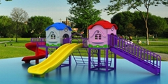 供應幼儿園儿童滑梯戶外大型組合滑梯經濟型C-1