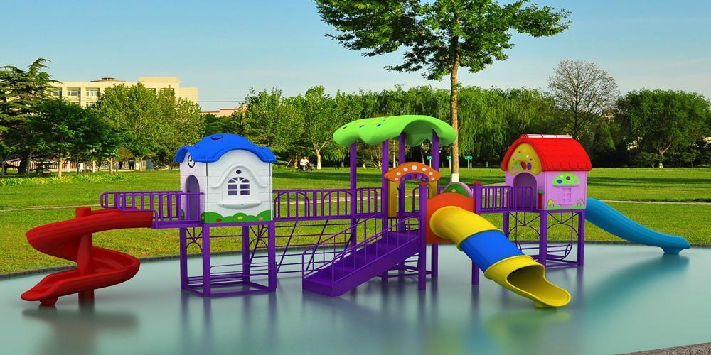 供應幼儿園儿童滑梯戶外大型組合滑梯經濟型G-2 1