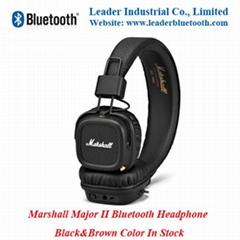 Marshall Major II Bluetooth Headphone by Leaderbluetooth