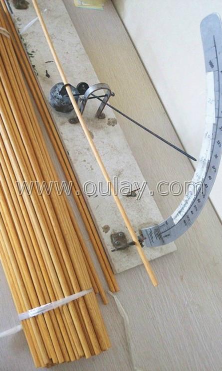 Wood Arrow Shafts Oulay China Trading Company Archery Sport