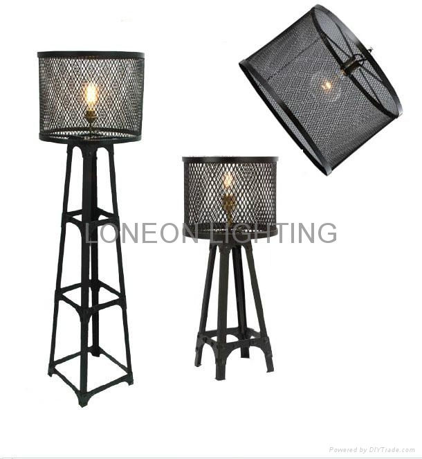 Amazing wire mesh light shade ideas electrical circuit diagram hot vintage floor lamp wire mesh shade if50 loneon lighting greentooth Gallery