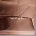 Pure Copper Polyester Taffeta Conductive