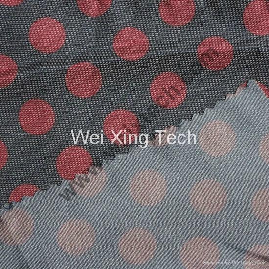 50% Si  er Fiber Printed Fabric 1