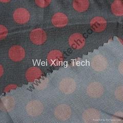 50% Si  er Fiber Printed Fabric