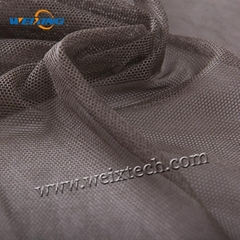 100% Pure Silver Plated Polyamide (Nylon) Mesh Fabric