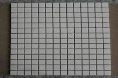 square White Thasso Marble Mosaic Tiles